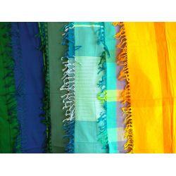 Foulard soie/coton fait à la main