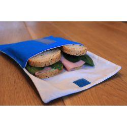 Poche sandwich 18 cm coton et rPET - Plusieurs coloris