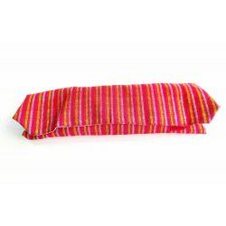 Herbruikbare foodwrap voor lunch in katoen 30 x 50 cm + rPET, sluit met velcro