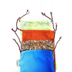 Sac à vrac en sari recyclé