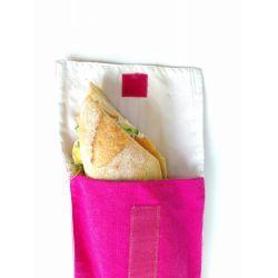 Poche sandwich 15 x 30 cm coton + rPET