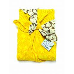 Furoshiki en sari recyclé (emballage cadeau) 50 cm