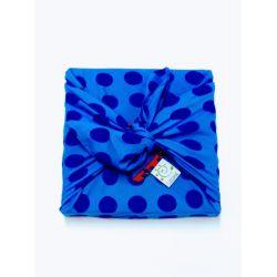 Furoshiki en sari recyclé (emballage cadeau) 75 cm